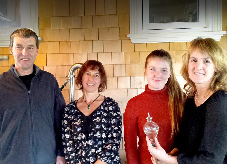 Yves Leblanc, Marie-Josée Duval, Jany Leblanc et Nancy Bourque.