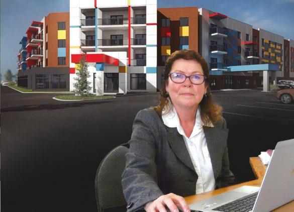 Mme Denise Landry, ressource responsable de la campagne d'information et de promotion.